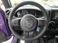 Black Steering Wheel Photo for 2017 Jeep Wrangler Unlimited #122547216