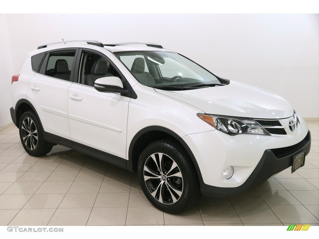 2015 blizzard pearl toyota rav4 limited awd 122540624 photo 18 car color. Black Bedroom Furniture Sets. Home Design Ideas