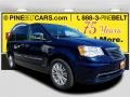 True Blue Pearl 2014 Chrysler Town & Country Limited