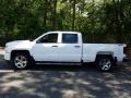 2018 Summit White Chevrolet Silverado 1500 Custom Crew Cab 4x4  photo #3