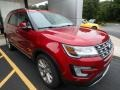 Ruby Red 2017 Ford Explorer Limited 4WD Exterior
