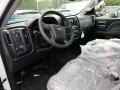 2018 Summit White Chevrolet Silverado 1500 Custom Crew Cab  photo #7