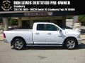 2014 Bright White Ram 1500 SLT Quad Cab 4x4 #122572342