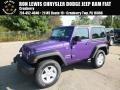 2017 Xtreme Purple Pearl Jeep Wrangler Sport 4x4 #122572309