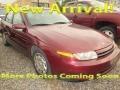 2001 Dark Red Saturn L Series L200 Sedan #122582721