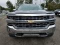 2018 Black Chevrolet Silverado 1500 LTZ Crew Cab 4x4  photo #2