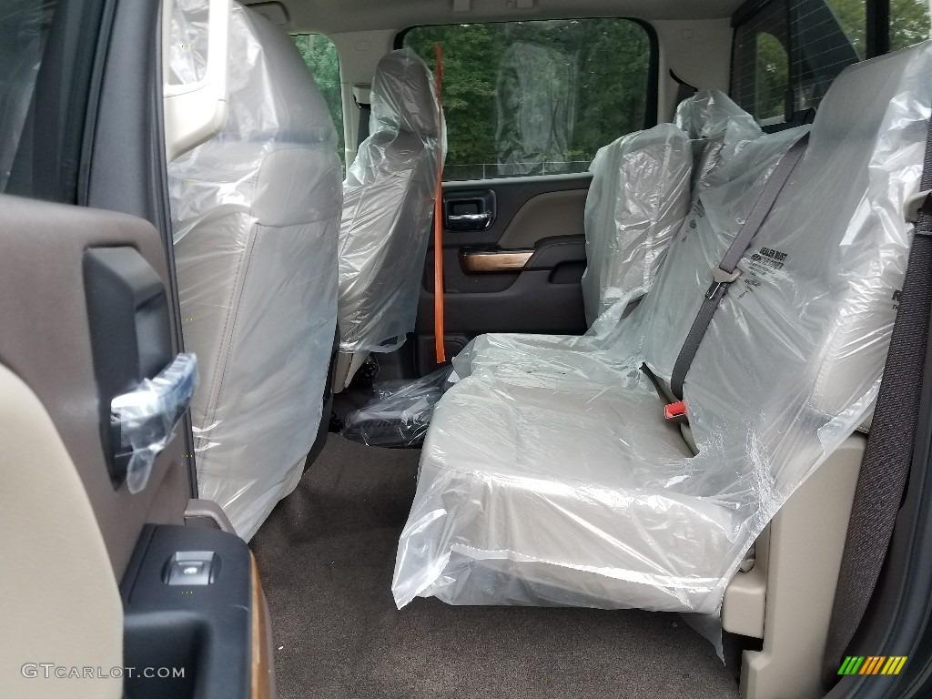 2018 Silverado 1500 LTZ Crew Cab 4x4 - Black / Cocoa Dune photo #6