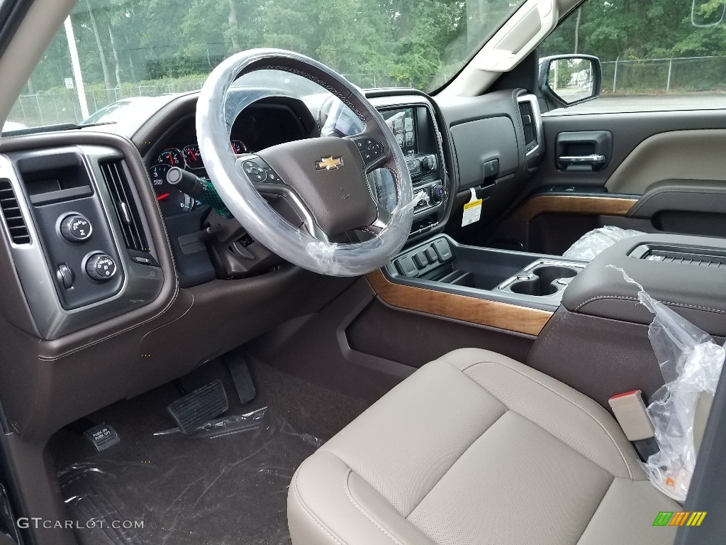 2018 Silverado 1500 LTZ Crew Cab 4x4 - Black / Cocoa Dune photo #7