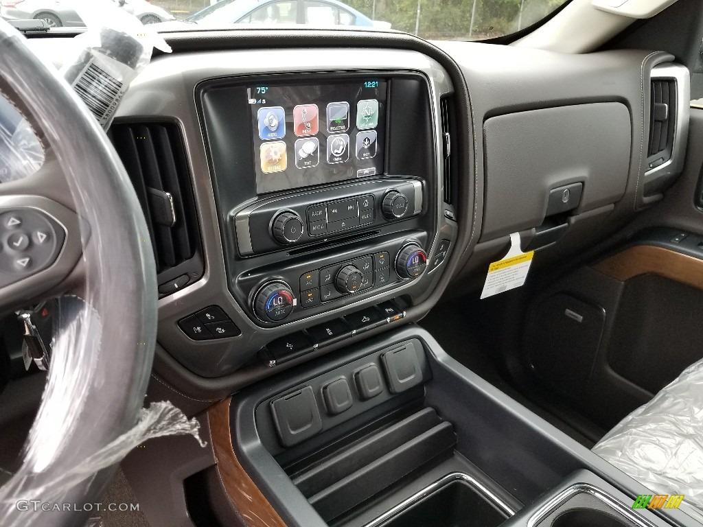 2018 Silverado 1500 LTZ Crew Cab 4x4 - Black / Cocoa Dune photo #10