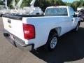 Summit White - Silverado 1500 Work Truck Regular Cab Photo No. 6