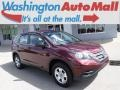 2014 Basque Red Pearl II Honda CR-V LX AWD  photo #1