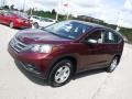 2014 Basque Red Pearl II Honda CR-V LX AWD  photo #6