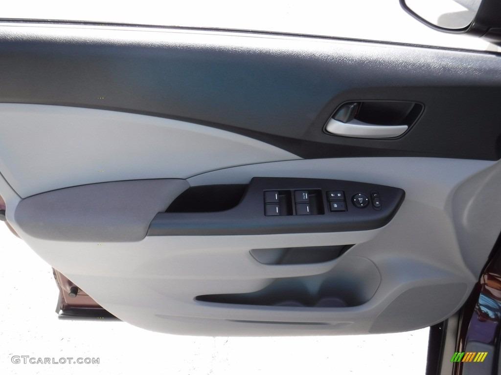 2014 CR-V LX AWD - Basque Red Pearl II / Gray photo #16