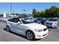 Alpine White 2012 BMW 1 Series 128i Convertible