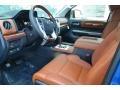 1794 Edition Black/Brown Interior Photo for 2018 Toyota Tundra #122661989