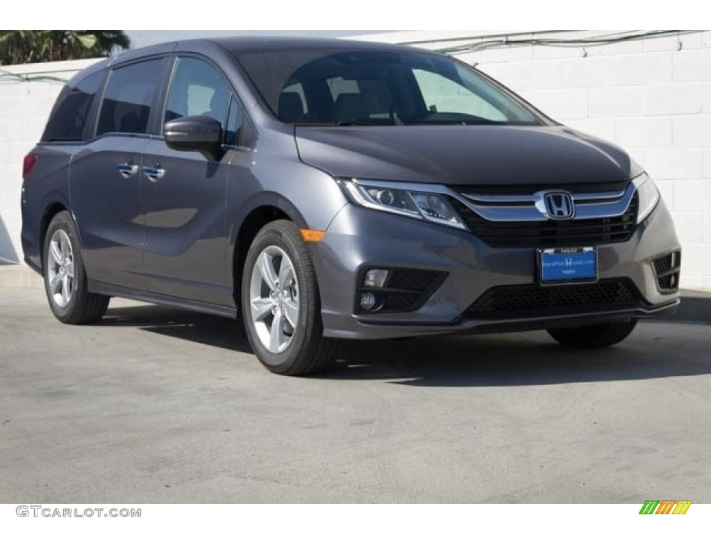 2018 Modern Steel Metallic Honda Odyssey Ex L 122671962 Car Color Galleries