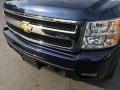 2011 Imperial Blue Metallic Chevrolet Silverado 1500 LTZ Crew Cab 4x4  photo #24