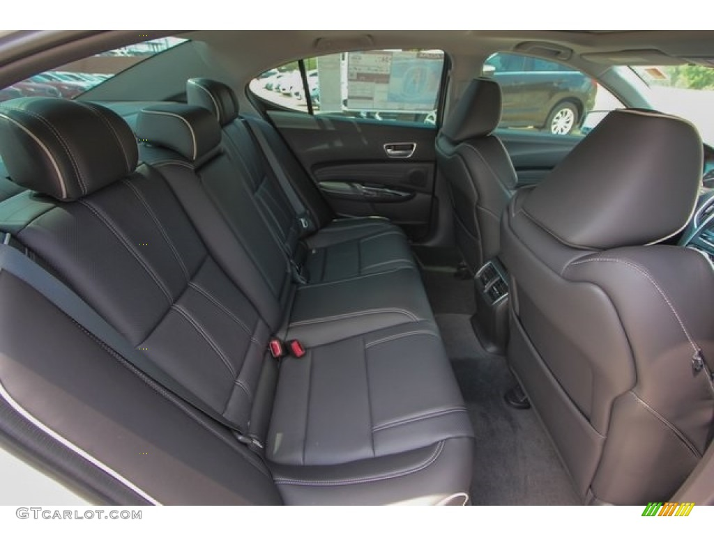 2018 Acura TLX V6 SH-AWD Technology Sedan Rear Seat Photo #122703909