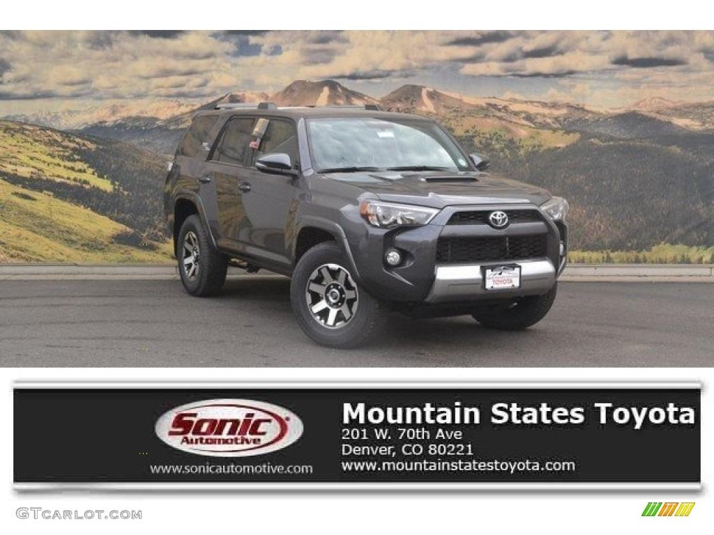2018 Magnetic Gray Metallic Toyota 4runner Trd Off Road 4x4 122704020 Gtcarlot Com Car Color Galleries