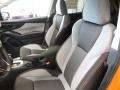 Gray Front Seat Photo for 2018 Subaru Crosstrek #122714135
