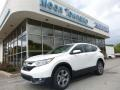 2017 White Diamond Pearl Honda CR-V EX-L AWD  photo #1