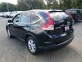 2012 Crystal Black Pearl Honda CR-V EX 4WD  photo #2