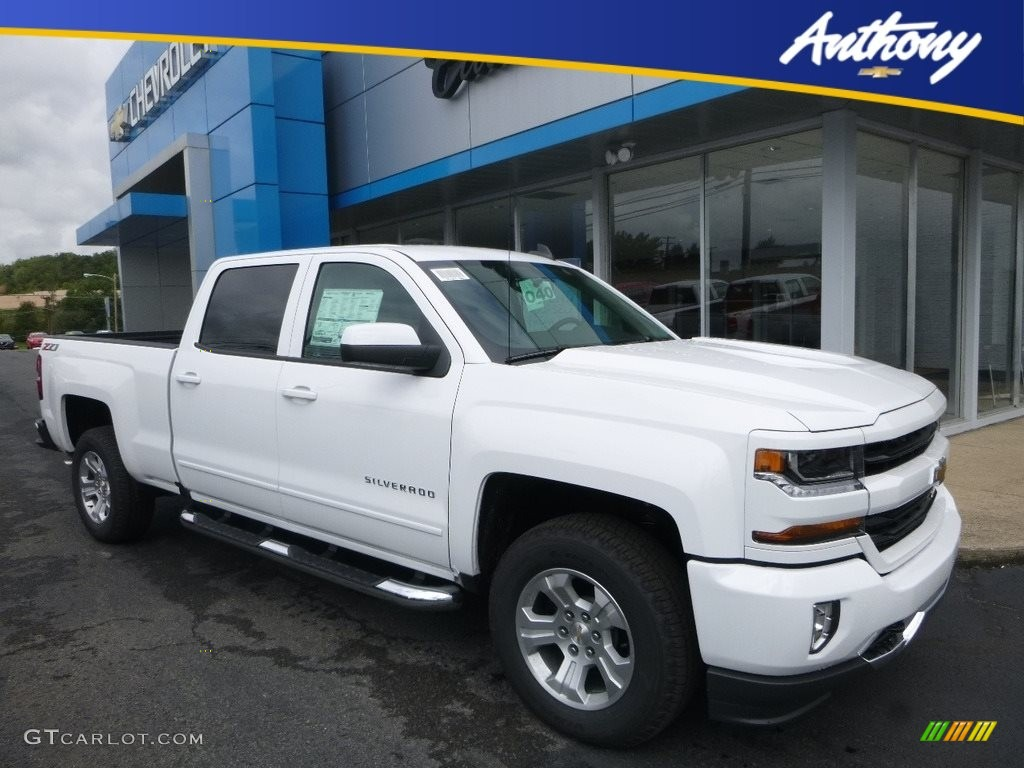 2018 Silverado 1500 LT Crew Cab 4x4 - Summit White / Jet Black photo #1