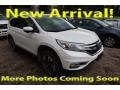 2015 White Diamond Pearl Honda CR-V Touring  photo #1
