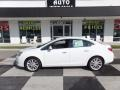Summit White 2016 Buick Verano Leather Group
