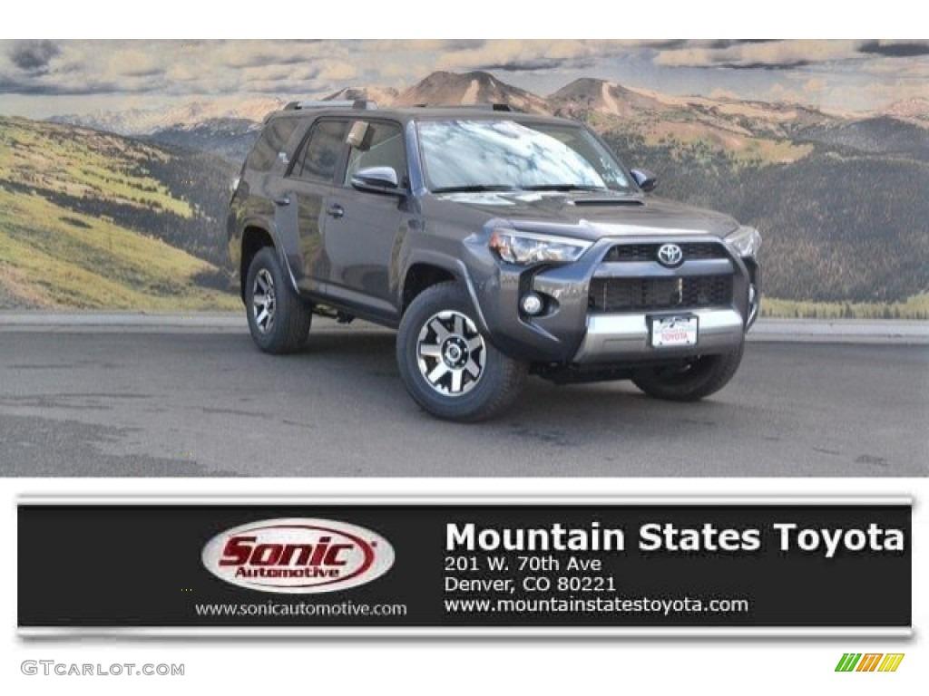 2018 Magnetic Gray Metallic Toyota 4runner Trd Off Road 4x4 122796012 Gtcarlot Com Car Color Galleries