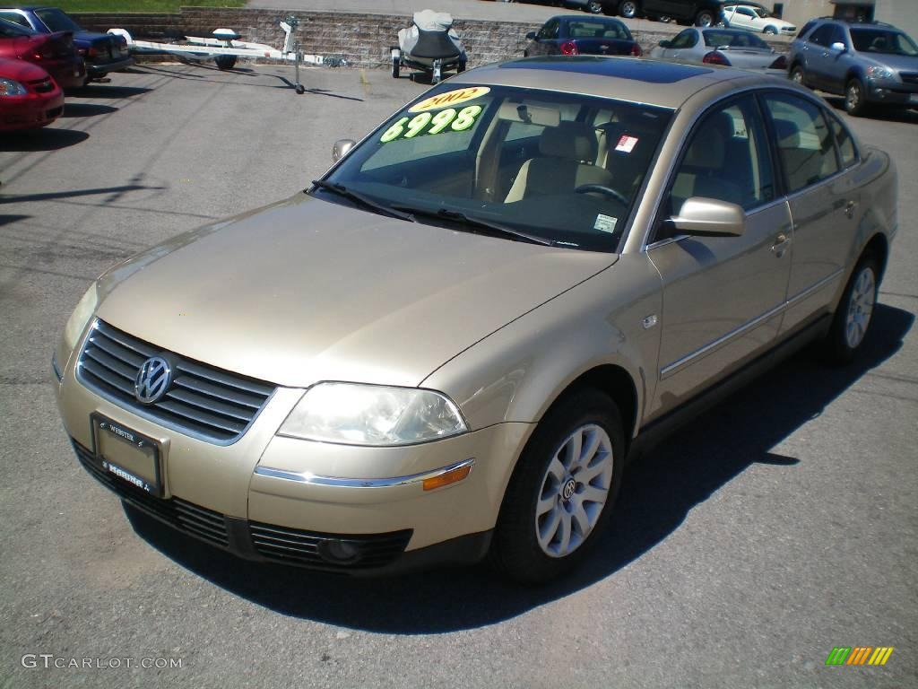 2002 mojave beige metallic volkswagen passat gls sedan 12263702 car color. Black Bedroom Furniture Sets. Home Design Ideas