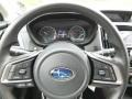 2018 Subaru Crosstrek Black Interior Steering Wheel Photo