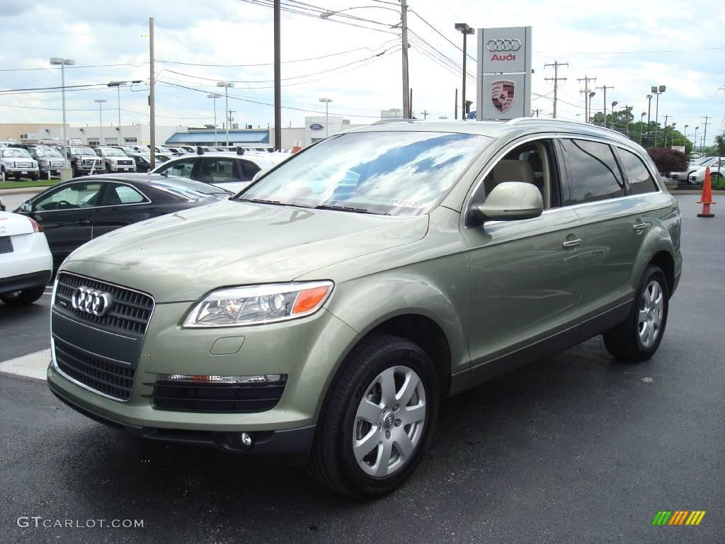 2007 sycamore green metallic audi q7 3 6 premium quattro 12258295 car color. Black Bedroom Furniture Sets. Home Design Ideas