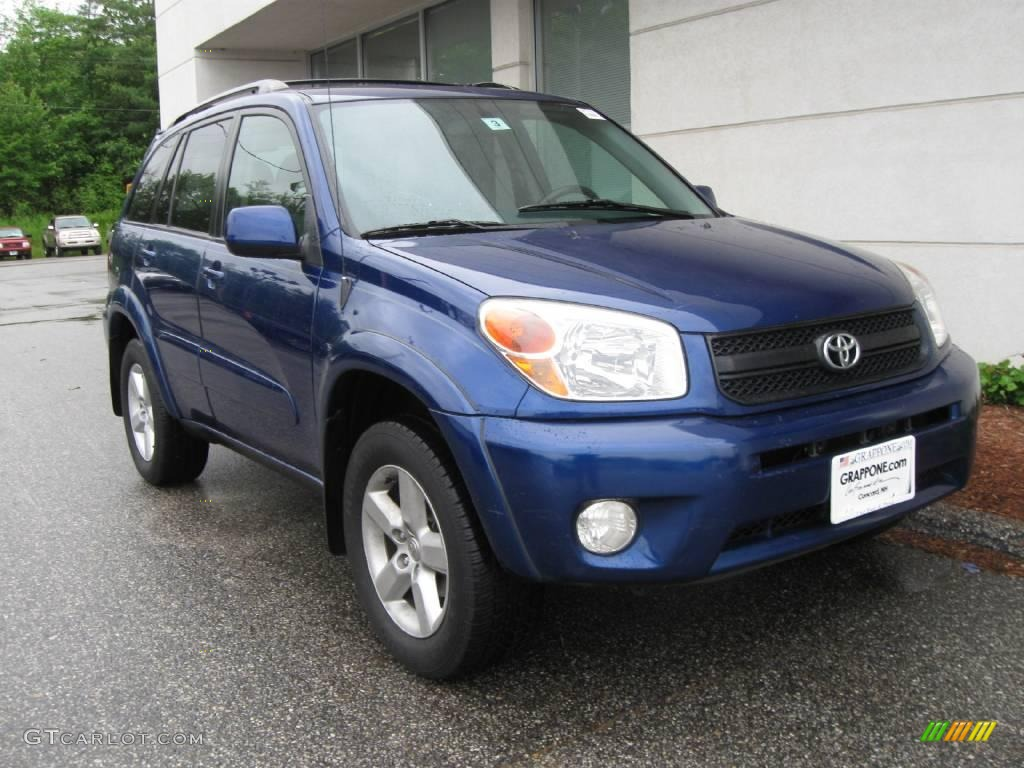 2005 spectra blue mica toyota rav4 4wd 12275486. Black Bedroom Furniture Sets. Home Design Ideas