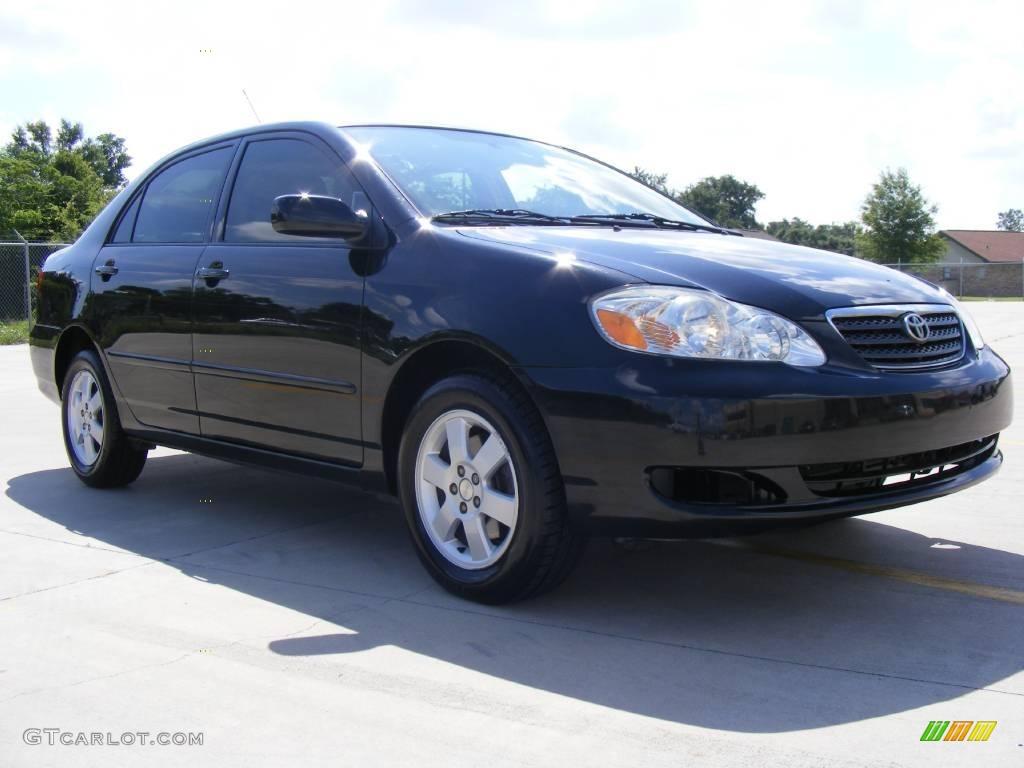 2006 Black Sand Pearl Toyota Corolla LE #12274195 Photo #2
