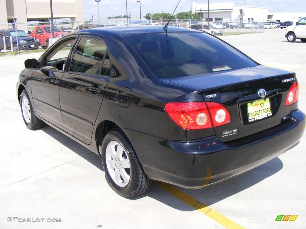 2006 Black Sand Pearl Toyota Corolla LE #12274195 Photo #5