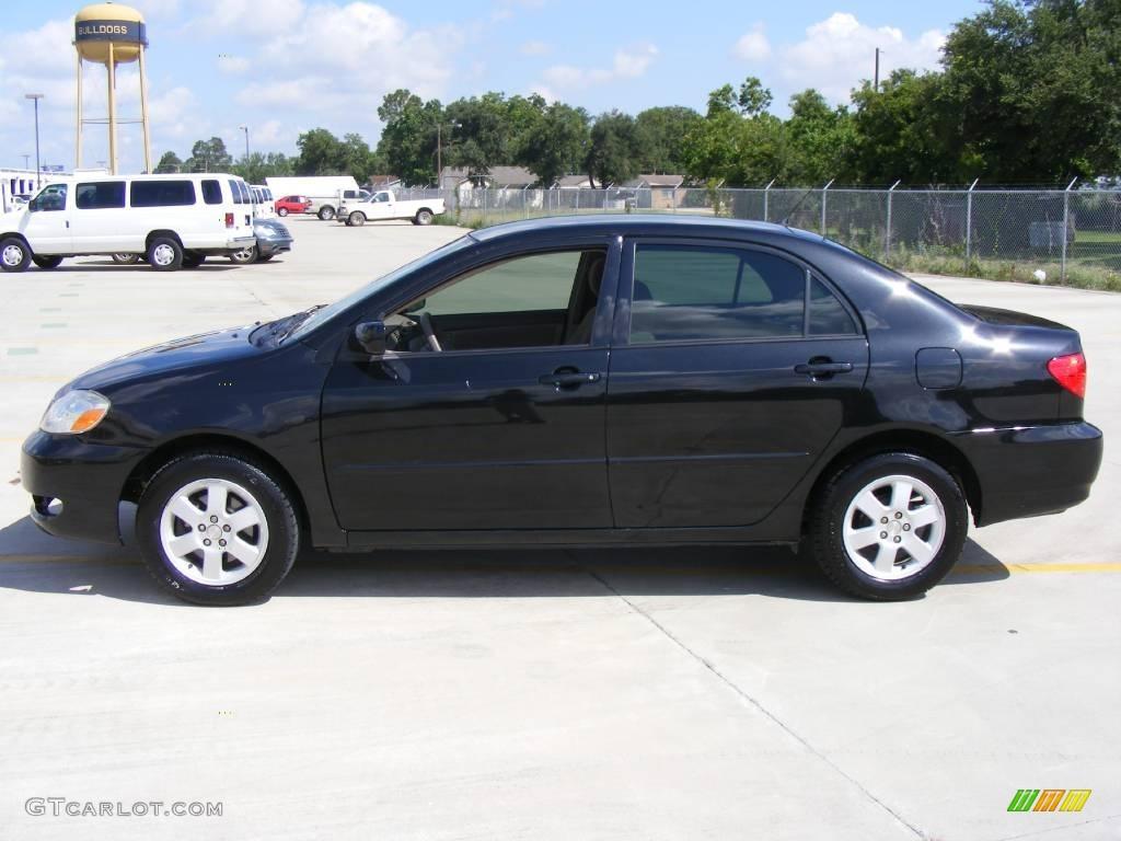 2006 Black Sand Pearl Toyota Corolla LE #12274195 Photo #6