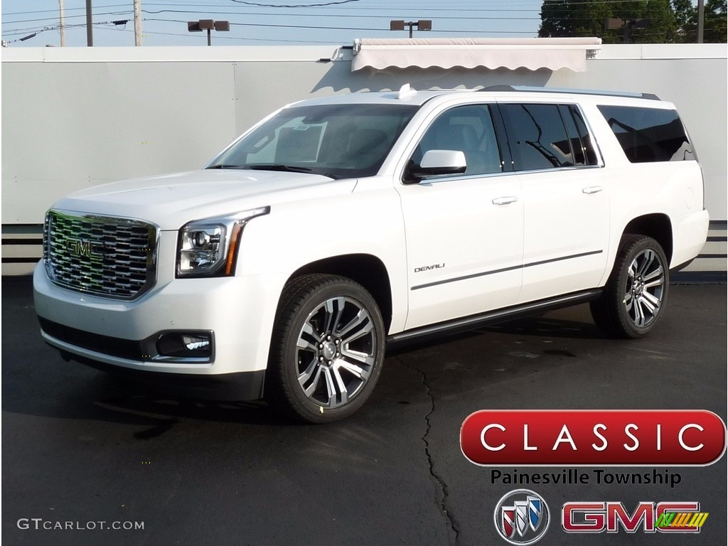2018 White Frost Tricoat Gmc Yukon Xl Denali 4wd 122828959 Gtcarlot Com Car Color Galleries