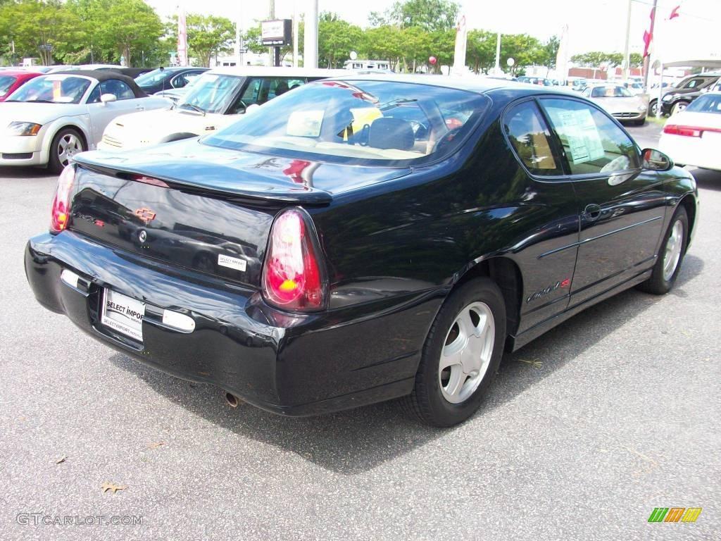 2000 Monte Carlo SS - Black / Light Oak photo #9