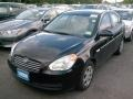 Ebony Black 2007 Hyundai Accent GLS Sedan