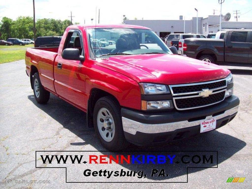 Victory Red Chevrolet Silverado 1500 Work Truck