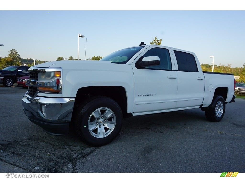 2018 Silverado 1500 LT Crew Cab - Summit White / Jet Black photo #3