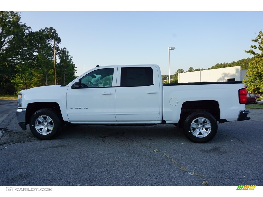 2018 Silverado 1500 LT Crew Cab - Summit White / Jet Black photo #4