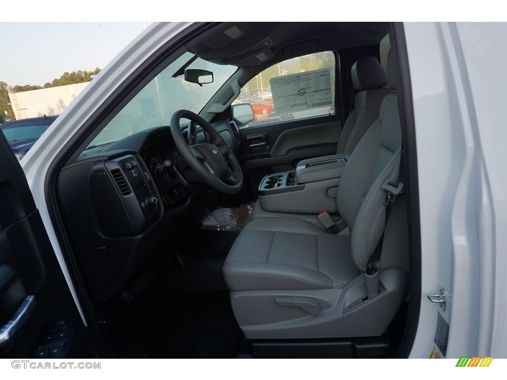 2018 Silverado 1500 WT Regular Cab - Summit White / Dark Ash/Jet Black photo #9