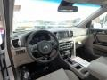 2018 Sportage EX AWD Gray Interior