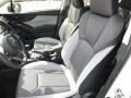 Gray Front Seat Photo for 2018 Subaru Crosstrek #122905866