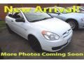 Nordic White 2008 Hyundai Accent GS Coupe