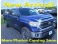 2015 Blue Ribbon Metallic Toyota Tundra SR5 Double Cab 4x4 #122901509