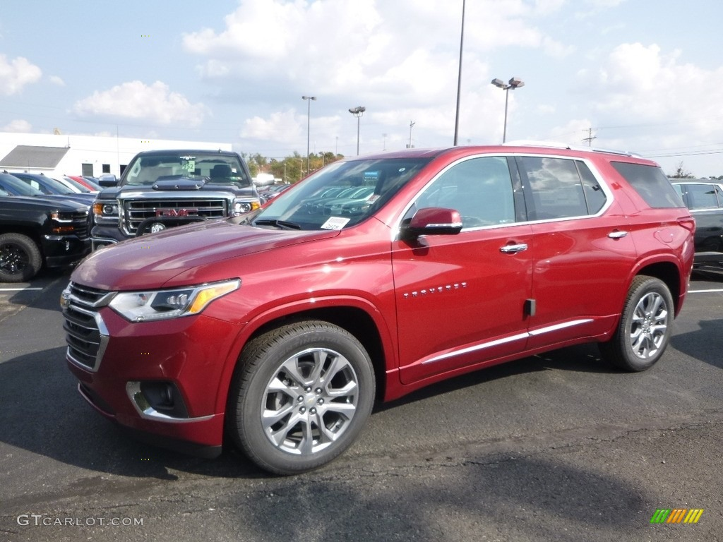 Red Chevy Traverse Autos Post