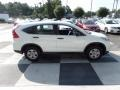 2015 White Diamond Pearl Honda CR-V LX AWD  photo #3